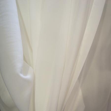 Perdea Velaria voal georgette alb [3]