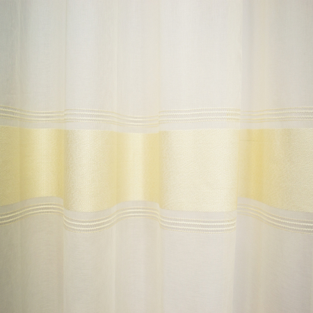 Perdea Velaria in cu dungi crem, 300x265 cm2