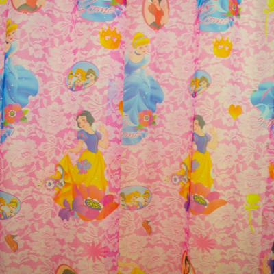 Perdele Velaria voal cu printese roz 200x245 cm [1]
