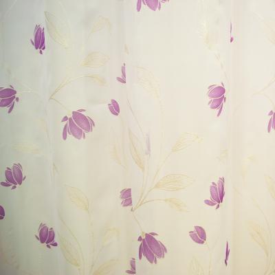 Perdea superpaint flowers purple, 290x245 cm1