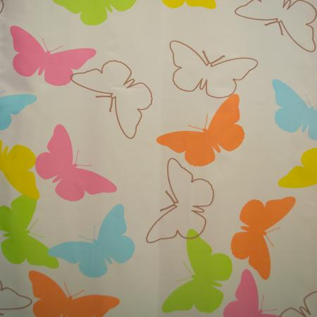 Perdele Velaria fluturi colorati 135x245 cm1