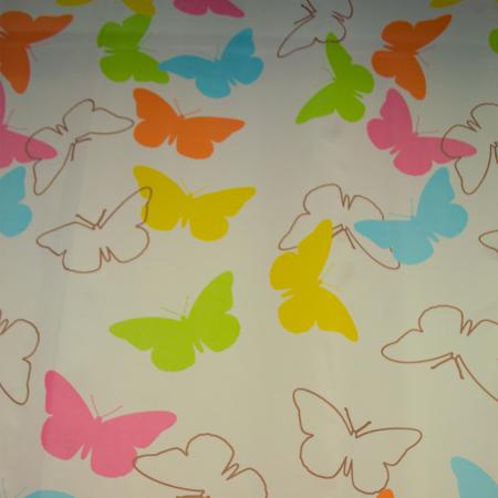 Perdele Velaria fluturi colorati 135x245 cm0