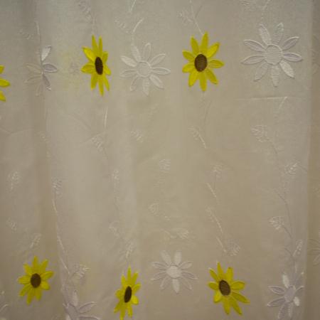 Perdele Velaria bucatarie floarea soarelui crem0
