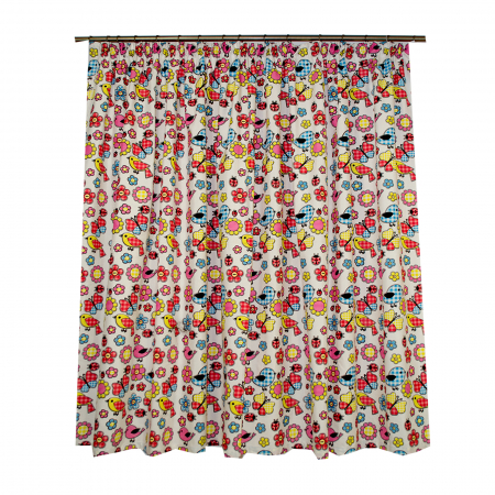 Set draperie Velaria Bucatarie Multicolor 140x172x22