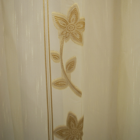 Perdele Velaria Sable floare cream 510 X 245 cm2