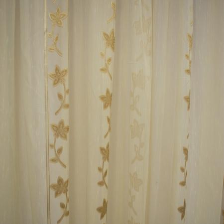 Perdele Velaria Sable floare cream 510 X 245 cm3
