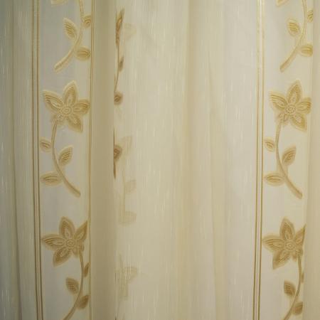 Perdele Velaria Sable floare cream 510 X 245 cm1