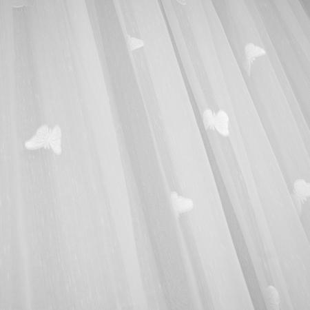Perdele Velaria sable fluturi albi, 500x245 cm [1]