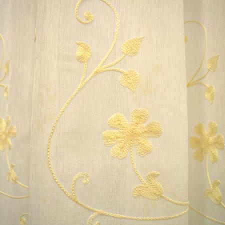 Perdele Velaria in flori gold 260x2452
