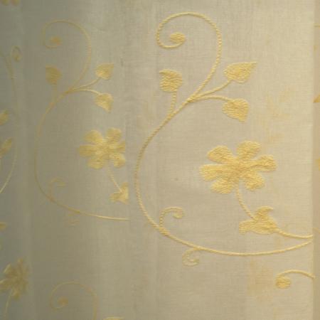 Perdele Velaria in flori gold 260x2453