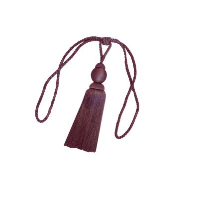 Set 2 canafi textili Larissa, 77 cm - grena9