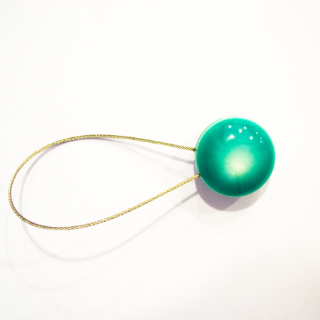 Set 2 magneti decorativi cu sufa metalica 28 cm0