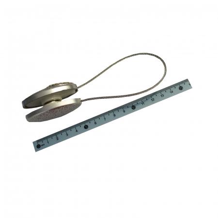 Set 2 magneti decorativi cu sufa metalica si cristale2