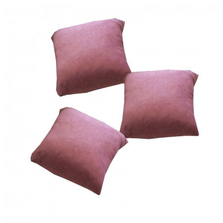Set 3 perne Velaria lila, 40/40 cm2