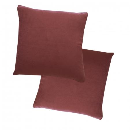 Set 2 perne Velaria roz inchis, 40/40 cm0