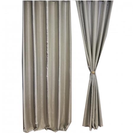 Set draperie Velaria blackout dungi gri 140X260X21