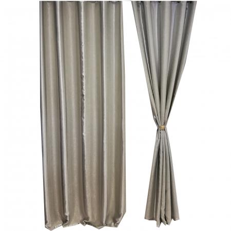 Set draperie Velaria blackout dungi gri 140X260X23