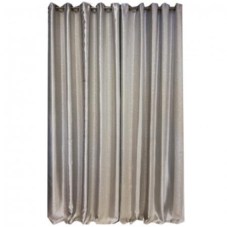 Set draperie Velaria blackout dungi gri 140X260X25