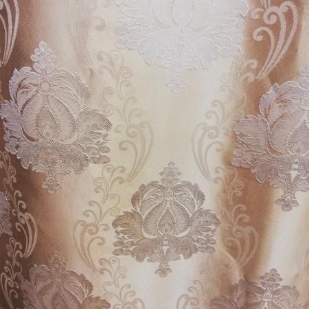 Set Draperie Velaria Tafta Baroc Clasic Ivory 140X260X23