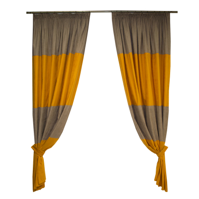 Set draperii Velaria orange, 2x170x235 cm0