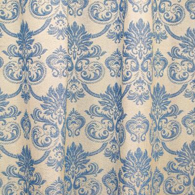 Set draperii Sama albastru, 2x135x255 cm2