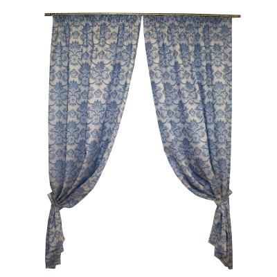 Set draperii Sama albastru, 2x135x255 cm0