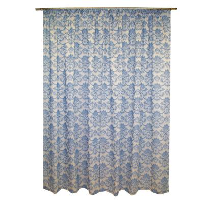 Set draperii Sama albastru, 2x135x255 cm1