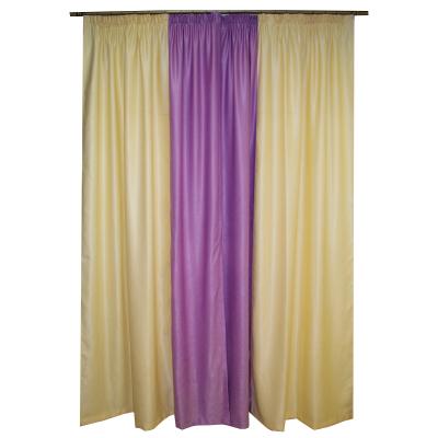 Set draperii soft unt-lila, 2x150x260 cm [1]