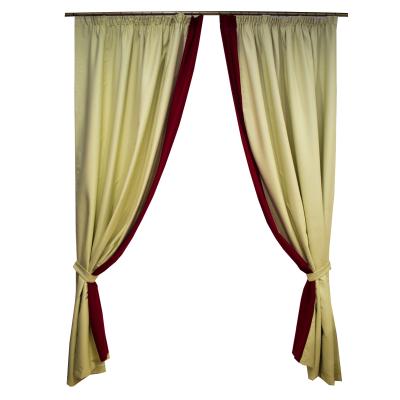 Set draperii blackout bej 2x165x260 cm [0]