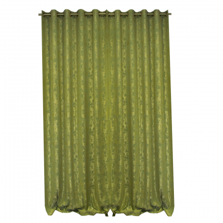 Set draperii Velaria asos verde brotacel cu capse [1]