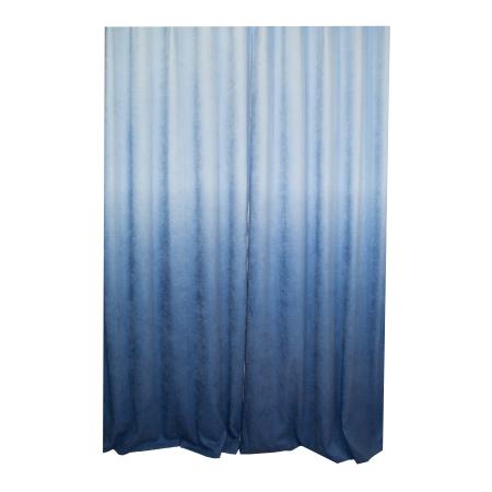 Set draperii Velaria degrade albastru cu rejansa1