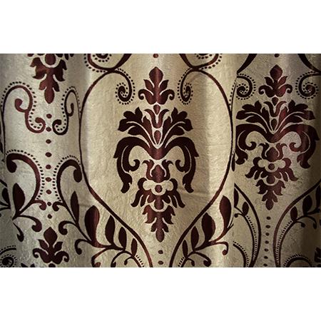 Set draperii Velaria baroc grena, 2*150x255 cm3