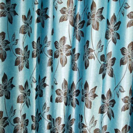 Set draperii Velaria blackout cu flori, 2*150x270 cm1