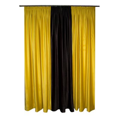 Set draperii Velaria catifea bee, 2x185x260 cm1