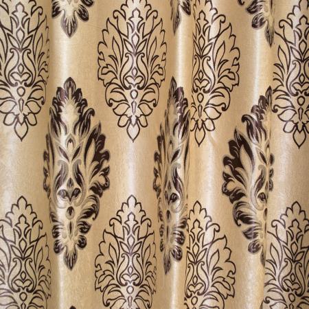 Set draperii Velaria blackout baroc wenge cu capse, 2*160x208 cm1