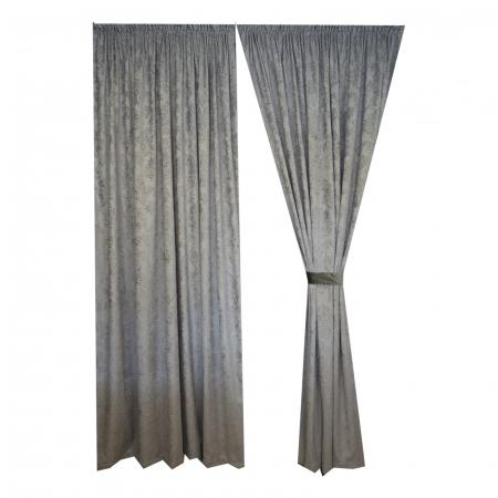Set draperii Velaria chenile gri0