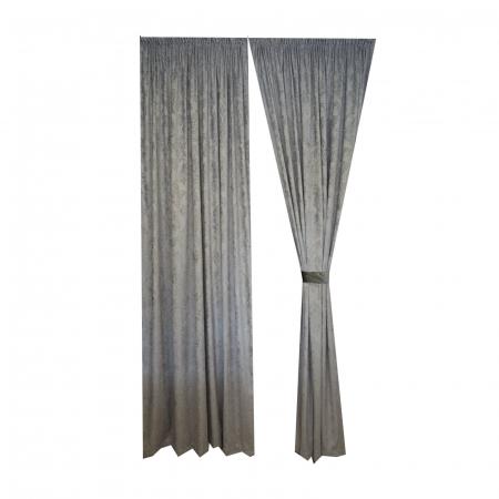 Set draperii Velaria chenile gri3