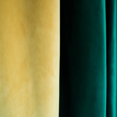 Set draperii Velaria catifea smarald, 2x185x225 cm1