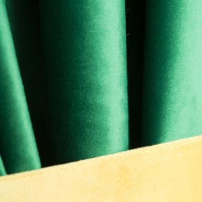 Set draperii Velaria catifea smarald, 2x185x225 cm4