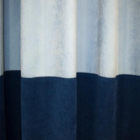 Set draperii Velaria albastru, 2x180x255 cm2