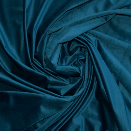 Set draperii Velaria catifea marin, 2x165x260 cm1