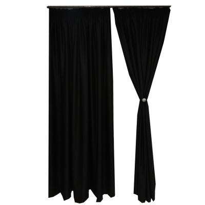 Set draperii Velaria soft negru 470x245 cm1