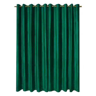 Set draperii Velaria catifea verde smarald cu capse, diverse dimensiuni1