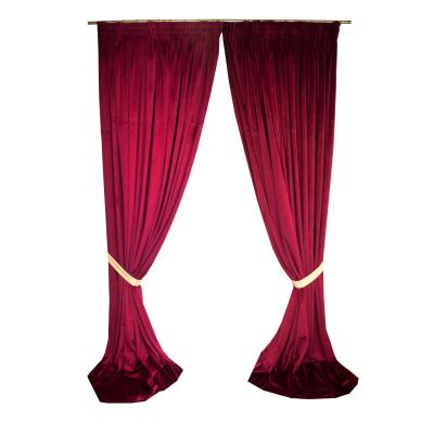 Set draperii Velaria catifea grena, diverse dimensiuni0