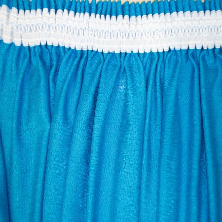 Set draperii Velaria albastru intens, 2x230x260 cm4