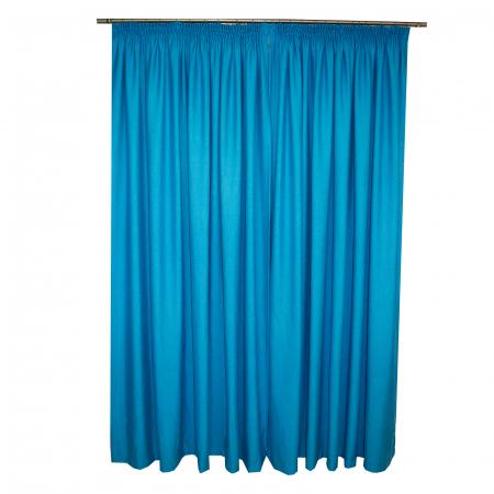 Set draperii Velaria albastru intens, 2x230x260 cm1