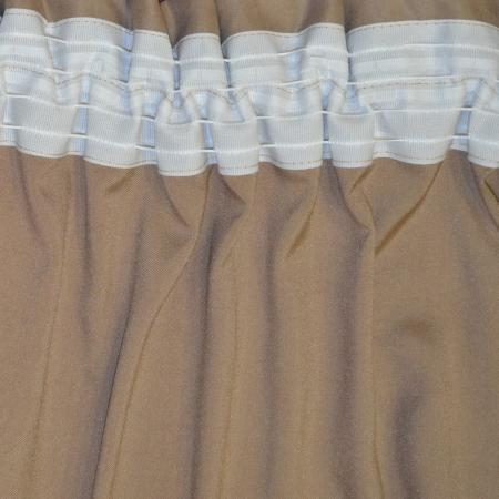 Set draperii Velaria suet pruna, 2x140x260 cm2