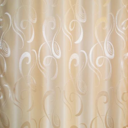 Set draperii Velaria jacard unt, 2x95x260 cm2