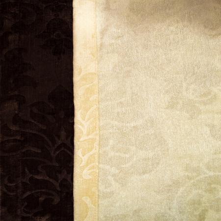 Set draperii Velaria unt-wenge, 2x115x235 cm4