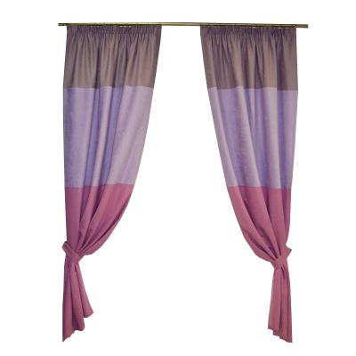 Set draperii Velaria in 3 nuante de mov, 2x150x250 cm0
